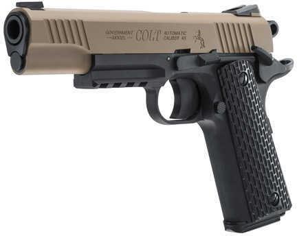 "Umarex USA Colt M45 CQBP DEB Metal Slide BB Pistol, .177 Caliber 4 1/2"" Barrel Md: 2254045"