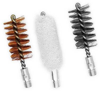 Birchwood Casey 12 Gauge Bronze/Nylon/Mop Brushes Set Md: 41261