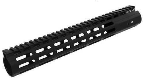"Leapers Inc. UTG Pro M-LOK AR-15 Super Slim Free Float Handguard 13"", Black Md: MTU006SSM"