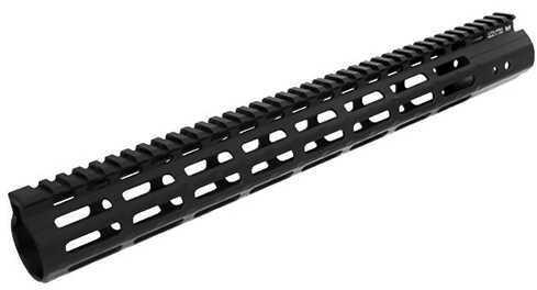 "Leapers Inc. UTG Pro M-LOK AR15 Super Slim Free Float Handguard 15"", Black Md: MTU019SSM"