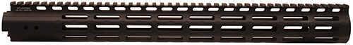 "Leapers Inc. UTG Pro M-LOK AR15 Super Slim Free Float Handguard 17"", Black Md: MTU037SSM"