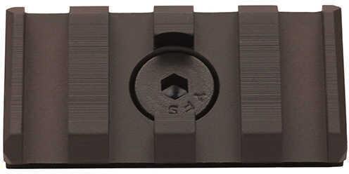 Leapers UTG Pro M-LOK Picatinny Rail Section 4 Slot, Black Md: MTURS09S