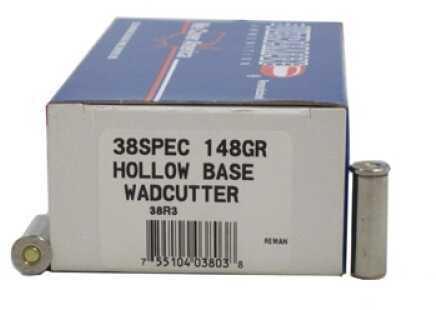 Ultramax 38 Special 148gr Match HB Wadcutter Ld 38R3