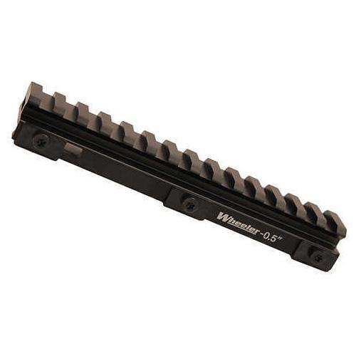 "Wheeler Delta Series Picatinny Rail Riser .5"", Black Md: 156506"