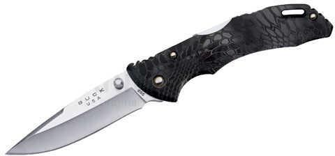"Buck Knives Bantam BHW, 3 1/8"" Plain Blade, Kryptek Typhon ETP Handle, Boxed Md: 0285CMS27"