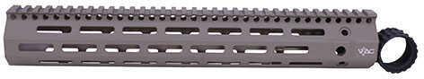 "Troy Industries 308 M-Lok Aluminum Rail 15"", Flat Dark Earth with VTAC Logo Md: SRAI-ML3-3HFV-00"