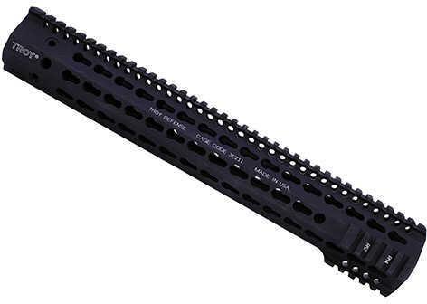 "Troy Industries .308 HP SDMR Rail 15"", Black Md: STRX-BK3-5HBT-00"