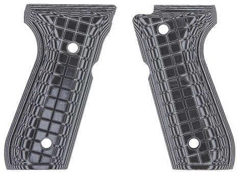 Pachmayr G-10 Tactical Pistol Grips Beretta 92 FS, Gray/Black Coarse Md: 61091