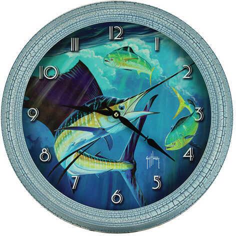 "Rivers Edge Products Metal Clock, 15"" Sailfish Md: 1018"