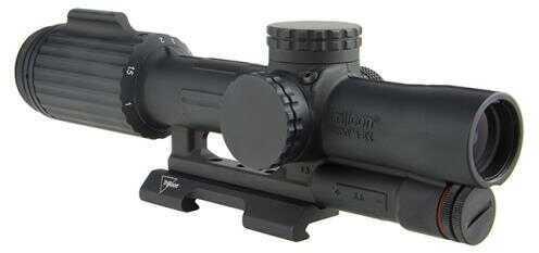 Trijicon VCOG 1-6x24mm Riflescope Green Horseshoe Dot/Crosshair .223/55 Grain Ballistic Reticle, Black Md: VC