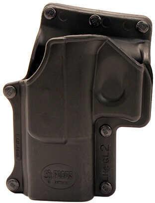 Fobus Roto Belt Holster Glock 17, 19, 22, 23, 31, 32, 34, 35, Left Hand, Black Md: GL2RB214L