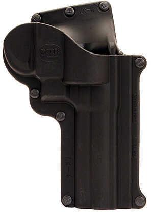 "Fobus Roto Belt Holster Smith & Wesson K&L Frame, 4"" Barrel, Right Hand, Black Md: SW4RB214"