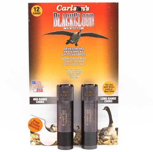 Carlsons 12 Gauge Extended Long Range Browning Invector DS Black Cloud Choke Tube, 2 Pack Md: 09118