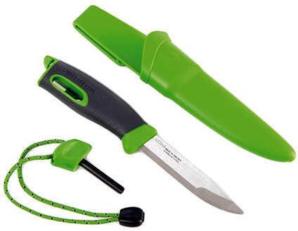 Light My Fire Swedish FireKnife, Green Md: S-FK-BULK-GREEN