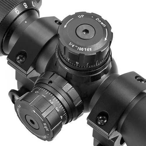 """Barska Optics 3-9X42 IR Sniper GX2 Green Red Mil Dot 1"""" AC11668"""