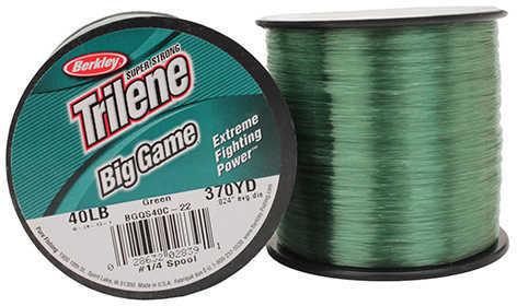 Berkley Trilene Big Game 1/4 lb Spool 40 lb 370 Yards , Green 1068360