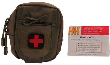 NcStar Compact Trauma Kit 1 Green Md: C1RTK1G