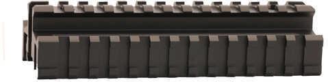 """Leapers Inc. UTG Full Size Tri Rail Riser Mount, 1"""" High, Black Md: MNT-995TR"""