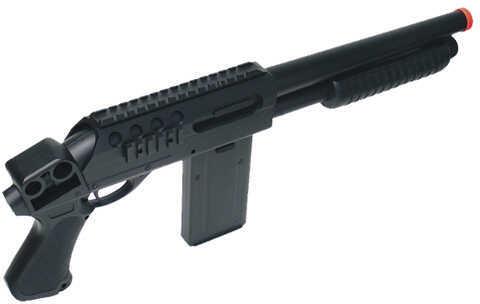 Leapers UTG Sport Airsoft Everblast CQB Sawed-off Combat Shotgun, Black Md: SOFT-M87SA