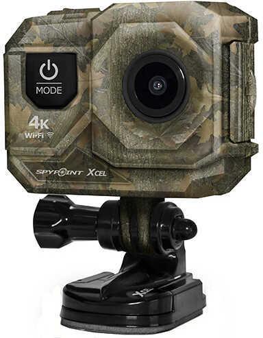 Spy Point XCEL 4K Hunt Action Cam, Camo Md: XCEL 4K HUNT