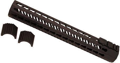 """Mission First Tactical Tekko Metal AR15 FF 13.5"""" KM Rail System, Black Md: TMARFF13KRS"""