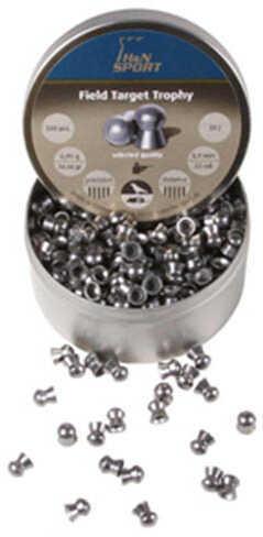 Hatsan USA H&N Field Target Trophy Pellets .22 Caliber, 14.66 Grains, Round Nose, Per 500 Md: 92105530005