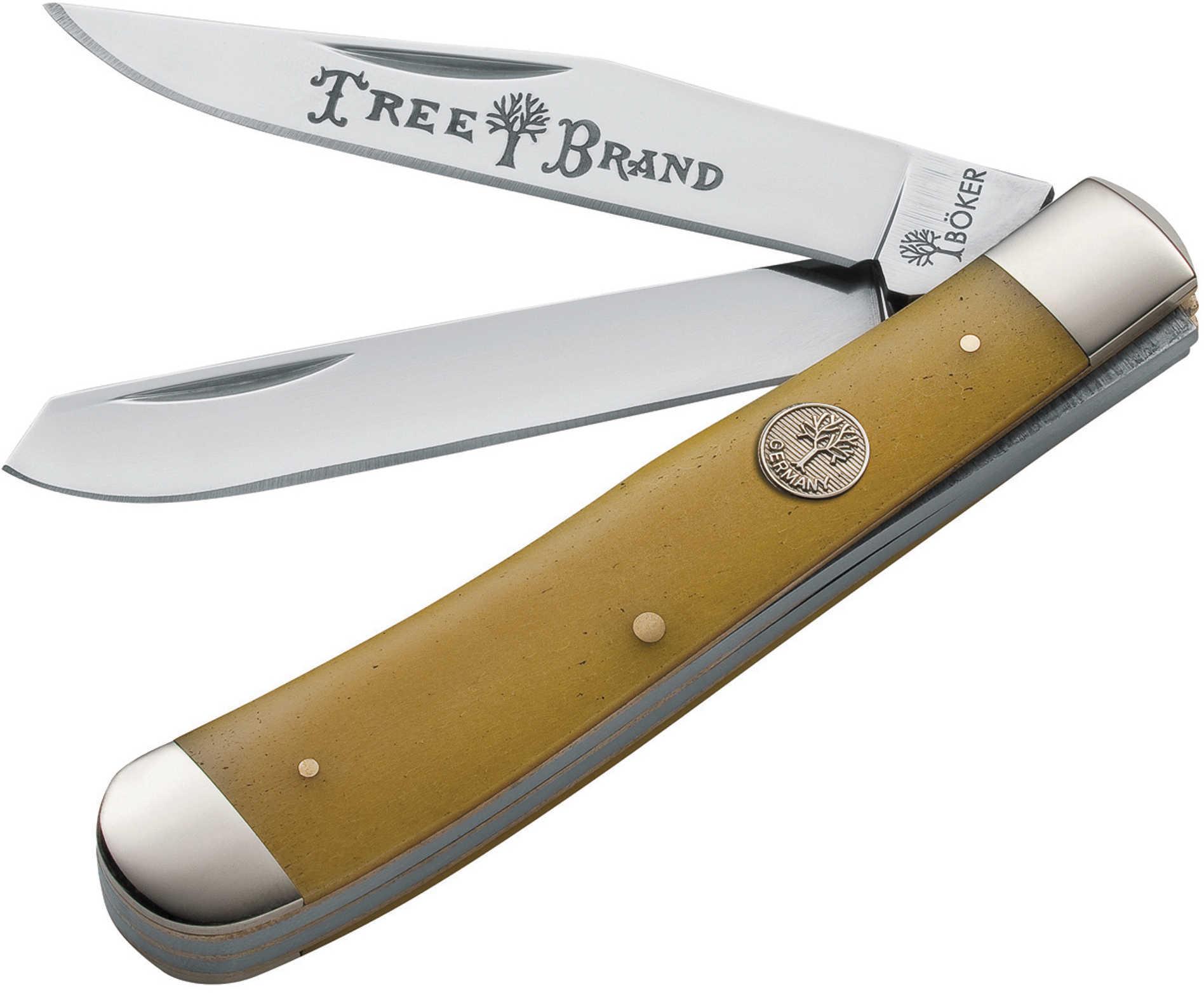 Boker USA Inc. Boker TS Trapper Smooth Yellow Bone 110731