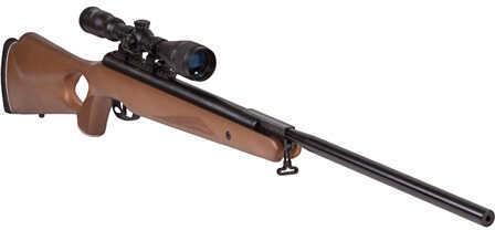 Benjamin Sheridan Trail Np Xl 725 .25 Caliber Nitro Piston Air Rifle With Hardwood Stock Includes 3-9 X 40mm Scope BT725WNP