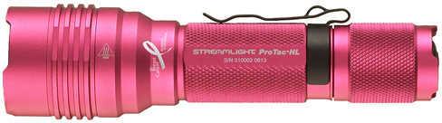 Streamlight Pink ProTac HL/Lithium, Nylon Holster, 600 Lumen 88044