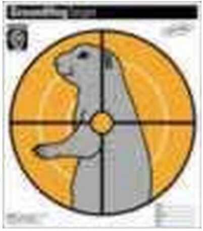 Hoppes Paper Target Ground Hog (20 Pack) CT2