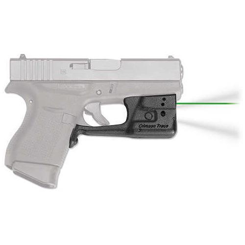 Crimson Trace Laserguard Pro Glock 42 And 43, Green Md: Ll-803G