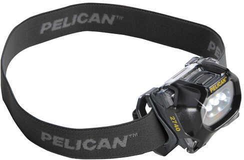 Pelican 2740C LED Headlamp 2nd Generation, 66 Lumens, Black Md: 027400-0101-110