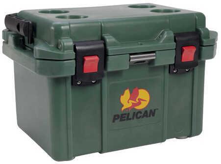 Pelican 20 Quart Elite Cooler Forest Green Md: 32-20Q-CC-FTGRN