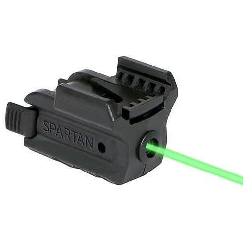 LaserMax Spartan Adjustable Fit Laser/Light Combo Green Md: SPS-C-G