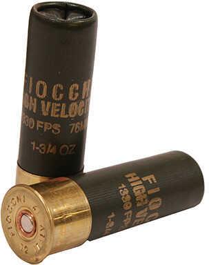 Fiocchi Hi Velocity 12 Gauge 3'' 1-3/4oz #4 25/Box Ammo