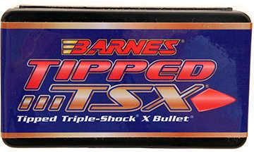 Barnes Bullets 6mm Caliber Bullets 6mm .243 80 Grains Boat Tail (Per 50) 24338
