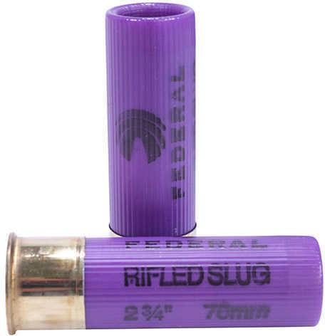 """Federal Cartridge Rifled Slugs 16 Gauge Power Shok Rifled Slug 2 3/4"""" Max dram, 4/5oz HP (Per 5) F164RS"""