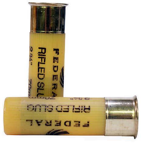 "Federal PowerShok 20 Gauge 2.75"" .75oz. Rifled Hollow Point Slug 5 Round Box F203RS"
