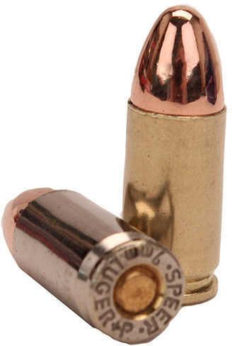 9mm Luger 125 Grains FMJ (Per 50) Ultramax Md: 9R4