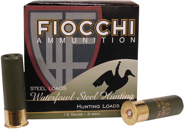 "Fiocchi Ammo Golden Waterfowl Steel 12 Gauge 3"" 1.25Oz #1 Ammunition 123SGW1"