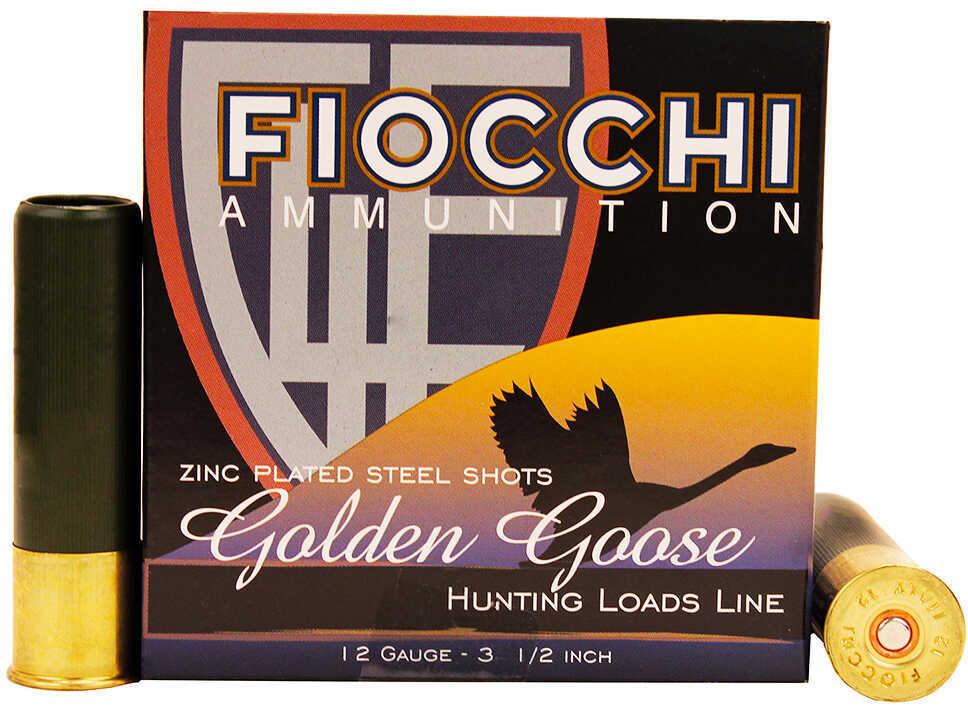 "Fiocchi Golden Goose Steel 12 Gauge 3.5"" 1-5/8oz #1 25/Box"