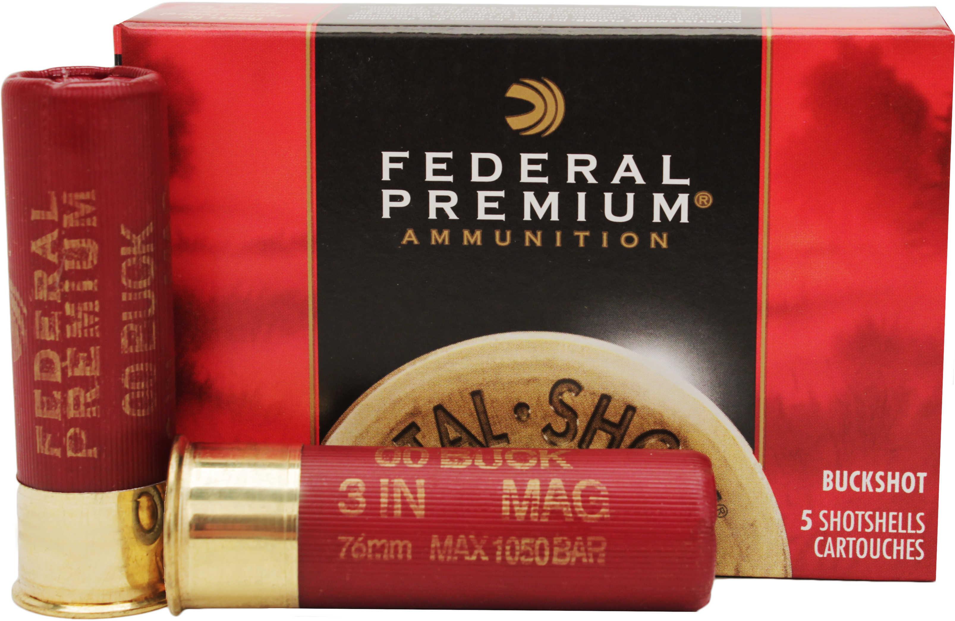 Federal Premium Vital•Shok Buckshot 12 Gauge
