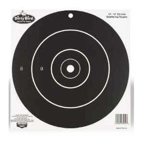 "Birchwood Casey Dirty Bird Paper Targets 12"", Round, (12 Pack) 35012"