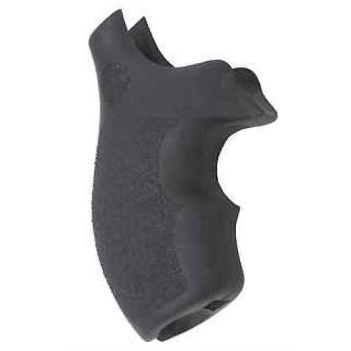 Hogue Rubber Grip for S&W S&W J Frame Round Butt Bantam Grip 61000