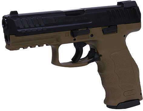 """Heckler & Koch VP9 Pistol 9mm 4.09"""" Barrel 10 Rounds Night Sights Flat Dark Earth"""