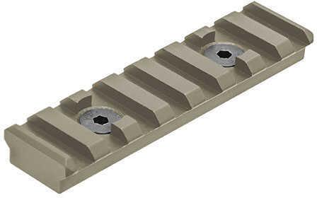 Leapers UTG PRO 8-Slot M-LOK™ Picatinny Rail Section, Flat Dark Earth Cerakote Md: MTURS09MD
