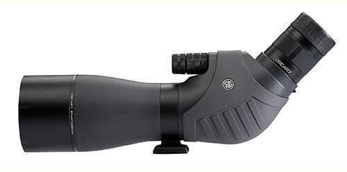 Sig Sauer Oscar7 Spotting Scope, 20-60x82mm HDX Lens, Black Md: SOV72001