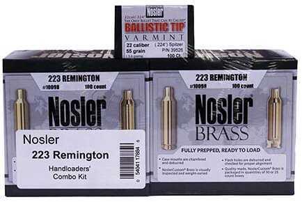 Nosler Handloaders Combo Kit .223 Remington Md: 17884
