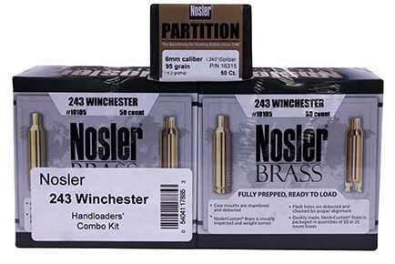 Nosler Handloaders Combo Kit .243 Winchester Md: 17885