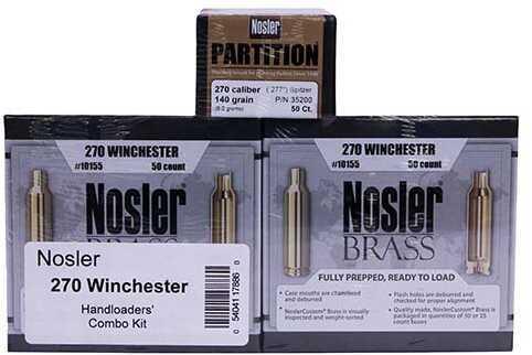 Nosler Handloaders Combo Kit .270 Winchester Md: 17886